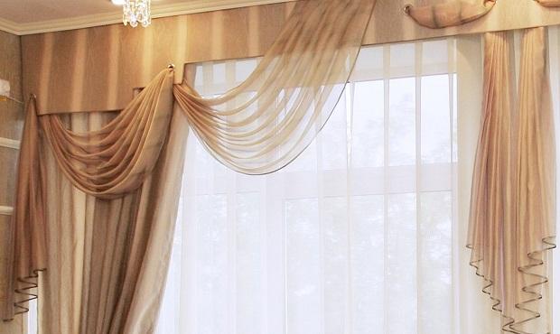 фото ламбрекен из вуали